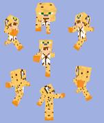 【Minecraft】ヤマネコパーカー