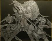 アクリル彫刻