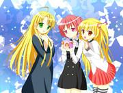 可愛い3人組