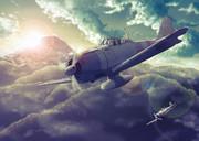 日出づる国の戦闘機