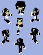 【Minecraft】クロネコパーカー