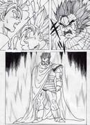 パラガスが伝説の超サイヤ人に変身する漫画を描いてみた P3