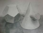 石膏デッサン 2