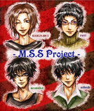 M.S.S Project 応援イラスト