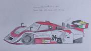 東方レーシング2012 ランチアLC2-SP91 紅魔館スカーレットチーム