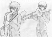 銀魂バンド。Tb&Sax
