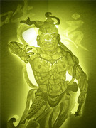 東大寺の金剛力士像(吽形)