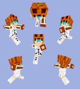 【Minecraft】スノーゴーレムパーカー