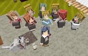 【Minecraft】littleMaidMobでペルソナ3キタローと女性陣