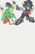 合体戦士ガンダムサイクロンジョーカー(合体参考gif)