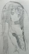 黒雪姫 模写ってみた 【アクセル・ワールド】