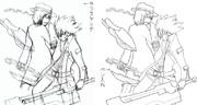 5/6、札幌おでライ用ブレイブルー本表紙原案