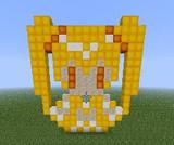 【Minecraft】 キュアサンシャイン(簡易版)