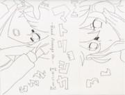 【ろん】マトリョシカ【そらる】線画