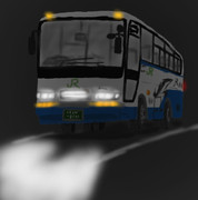 JRのバス描いてみた