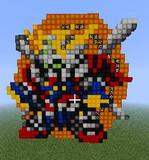 【Minecraft】 ゴッドガンダム