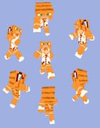 【Minecraft】トラネコパーカー