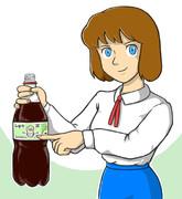 ワイルドなクラリスと炭酸水