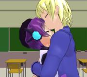 放課後でのキス