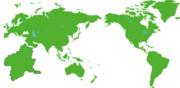 世界地図?