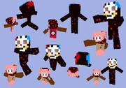 【Minecraft】シャルロッテスキン