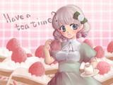 Cake!Have a tea time?