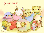 Thank you  for  800