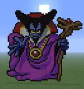 【Minecraft】DQ1SFC版のりゅうおう再現してみた