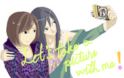 Let's take a picture with me !