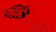 NSX ・・・のはず。【向き直しました。】