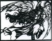 【切り絵】天使禁猟区