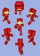 【Minecraft】ネザーウォートパーカー