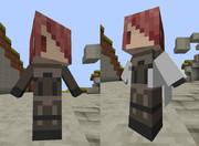 【Minecraft】littleMaidMobでP4Uの美鶴