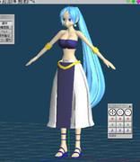 【MMDユーザーモデル】砂漠の国の王女様その2