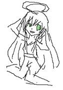 ニャル子さんマウスで書いてみた。