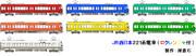 JR西日本:221系電車側面画像(もし単色化したら・・・)