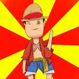 海賊王モンキー・D・ルフィだよー!