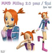 【MMD】 ミレイver.2.0 - ポケモンコロシアム 【配布停止中】