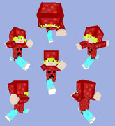 【Minecraft】ネザーワートちゃん 【イラスト再現】