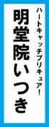 オールスター感謝祭の名前札(明堂院いつきver.)