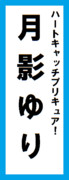 オールスター感謝祭の名前札(月影ゆりver.)