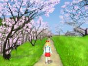 安中さんがいる風景「群馬県安中市西上秋間・秋間梅林」