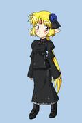 フランちゃんの衣装「黒ゴシック」