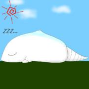 <GIF>ガヴァドンが寝てるだけ<アニメ>
