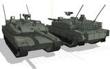 [MMD]10式戦車製作中