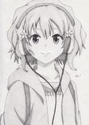 花咲くいろはの「松前緒花」描いてみた