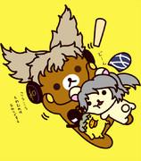 ゴウゾックマ(豪族×リラックマ)