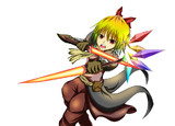 大妖精のソードワールド2.0 支援絵 チルルフランザム