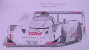 東方レーシング2012 プジョー905E1 '91 「主人公チーム」