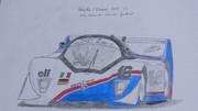 東方レーシング2012 クレマー・ポルシェCK5 '83 「紅魔館従者チーム」